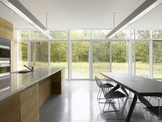 Haus Wald-moderne Einbauküche