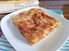 Tortino di patate alla pizzaiola ricetta facile