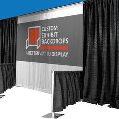 Custom Exhibit Backdrop Kits