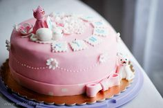 Cake with cats for 2 year old girl
