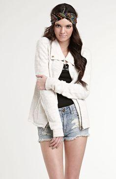 Kendall & Kylie Sweater Jacket #KandK4PacSun #PacSun