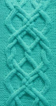 Aran Knit Pattern
