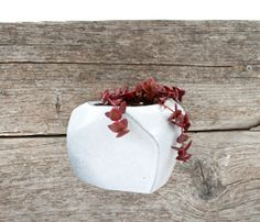 Black and White Wall Hanging Planter by LandMstudio on Etsy, $65.00