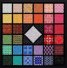Twinkling Gems - this looks like a fun stitch sampler