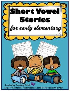Reading Passages and Comprehension Questions with Short Vowels