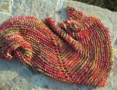 Ribbon Yarn Shawlette   KnitPicks Staff Knitting BlogKnitPicks Staff Knitting Blog