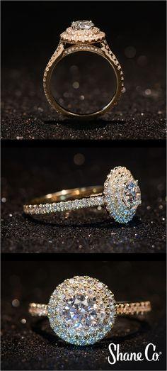 The Best Night Before Christmas Engagement Ring Inspiration https://bridalore.com/2017/11/15/night-before-christmas-engagement-ring-inspiration/