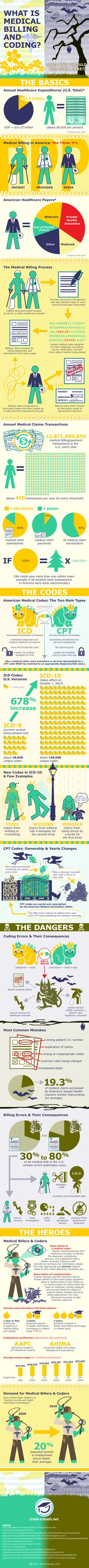 What is medical billing and coding? Check out this infographic to learn why medical coders and billers should be admired as heroes in the medical field. Medical Coder, Medical Billing And Coding, Medical Careers, Medical Terminology, Medical Assistant, Medical History, Medical Coding Course, Health Information Management, Manager Humor