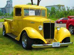 1934 Vintage International Pick Up Truck ~ Old Pickup Trucks, Hot Rod Trucks, New Trucks, Custom Trucks, Cool Trucks, Cool Cars, Dodge Trucks, Custom Cars, Antique Trucks