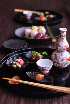 花ヲツマミニ 「蛸と里芋の翡翠煮」
