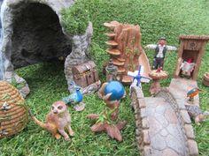 Outdoor Gardens, Lion Sculpture, Miniatures, Indoor, Statue, Create, Art, Interior, Art Background