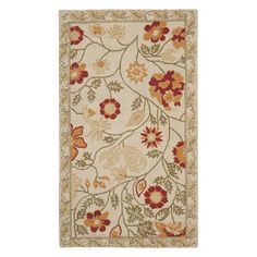 Have to have it. Safavieh Chelsea HK716A Area Rug - Ivory/Green - $39.99 @hayneedle