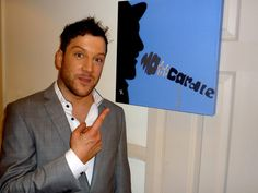 Matt Cardle loved his Name Art piece!