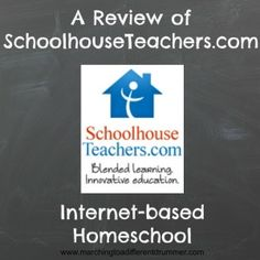 Internet-Based homeschool using the wide variety of courses offered at SchoolhouseTeachers.com