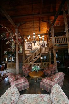 """The Barn House @ Oak Hill - Galena, IL Another Barn House! There's an idea for a """"loft"""""""