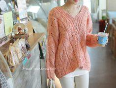 Korean Style Sweater Free Worldwide Shipping http://en.thejamy.com/goods.php?id=172592