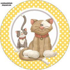 Casinha de Criança Animals Images, Zoo Animals, Animals For Kids, Pet Shop, Aristocats Party, Cat Clipart, Cat Art Print, Here Kitty Kitty, Kitty Cats