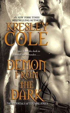 Demon from the Dark (Immortals After Dark, #10) Snarky female lead, brooding hero. Another excellent Immortals After Dark book.