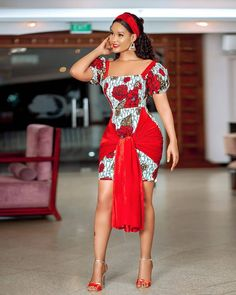 Ankara Styles currently buzzing the Internet - Fashion Empire TV Latest African Fashion Dresses, African Inspired Fashion, African Print Dresses, African Print Fashion, African Dress, Ankara Fashion, African Wear, African Prints, African Style
