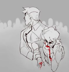 Shiro, the big brother, always saving Keith. Voltron Ships, Voltron Klance, Form Voltron, Voltron Memes, Voltron Fanart, Dreamworks, Bucky Barnes Captain America, Shiro Voltron, Keith Kogane