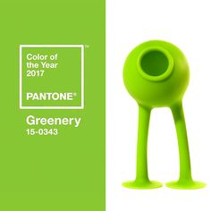Oogi Bongo is celebrating PANTONE's pick for Color for the Year Greenery
