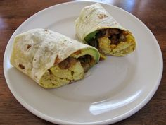 Best Chorizo Potato Avocado Burritos Recipe on Pinterest