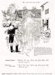 From 1924 an advertisement from John Walker of Kilmarnock for their whisky.