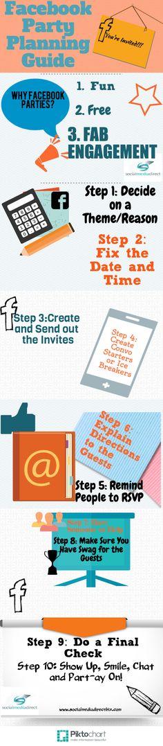 The Complete Facebook Party Planning Guide #facebooktips #socialmedia #smallbusinesssocialmedia