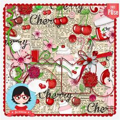 Kit Digital Cherry de Fa Maura Designs **  http://famaura.com/shop/index.php?main_page=product_info=67_3_id=1579  http://scrap-team.com/shop/index.php?main_page=product_info=276_232_230_id=8428#.UeWciY2UTap