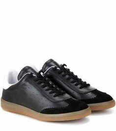 Étoile Bryce leather sneakers | Isabel Marant