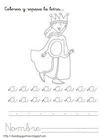 A MÍ ME GUSTA EL COLE: Algunas fichas para Navidad Cursive, Grande Section, Alphabet, Homeschool, Clip Art, Letters, Teaching, Education, Crafts