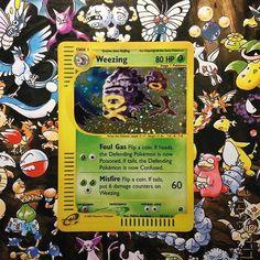 jigglypuffcards: Weezing always seems related to ghastly #pokemon #pokemonex #pokemontcg #pokemoncards #pokemonwotc #pokemonred #pokemonblue #pokemonyellow #pokemongold #pokemonsilver #gamefreak #nintendo #gameboy #gameboyadvance #gameboy #microobbit
