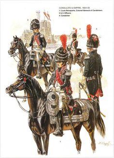 Ufficiale dei carabinieri, Luigi Bonaparte colonnello generale dei carabinieri carabiniere e ufficiale dei carabinieri  francesi