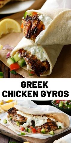 Greek Chicken Gyros Recipe Related posts: Chicken gyros Greek Gyro Recipe with Homemade Gyro Meat from The Food Charlatan Better than Takeout Chicken Fried Rice Tostadas, Tacos, Enchiladas, Chicken Gyro Recipe, Easy Chicken Recipes, Burritos, Cooking Recipes, Healthy Recipes, Chicken