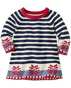 f5368f4dc804c North Star Sweater Dress by Hanna Andersson Matching Sweaters