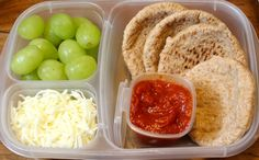 "Cold, no-bake pizza isn't my idea of a great lunch but kids seem to love it. These ""Copycat Lunchables"" are super easy."