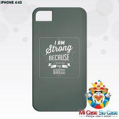 #capinhas para iPhone 4/4S - Personalize sua própria capinha ou escolha dentre as milhares de estampas disponíveis em nosso site.