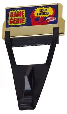 Game Genie.  I tried one of these on my NES when i was a kid...this was the only way ours ever worked