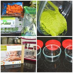 DETTE CAKES: How to make organic baby food!