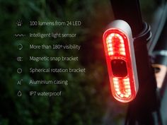 Emily Brooke is raising funds for The Blaze Burner - the best back light for bikes. We set out to create the ultimate back light - focusing on performance, safety and simplicity. Bicycle Safety, Bicycle Lights, Bike Light, Performance Bike, Urban Bike, Electric Bicycle, Cool Tech, Light Sensor, Tail Light