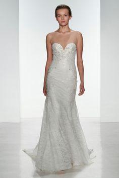 Kenneth Pool Discount Designer Wedding Dresses Front #weddingdress