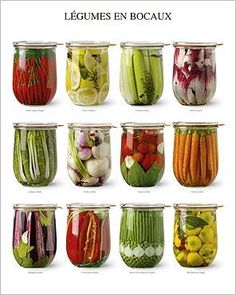 Vegetables in jars Atelier Nouvelles Images