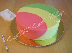Cartoon Cake Village - sugar art tutorial