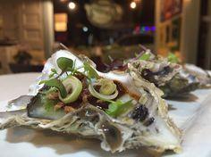 Fresh chuck oysters @ Farang cafe & bistro, Kingsland, Auckland, NZ