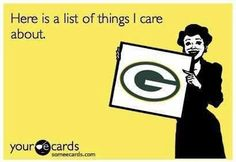 Green Bay Packers!