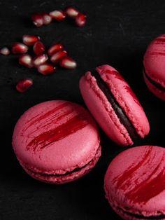 Csokoládé Reformer: Gránátalmás macaron