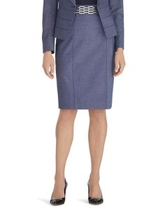 White House | Black Market Suit Pencil Skirt #whbm