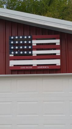 Our Version Of A Pallet Flag
