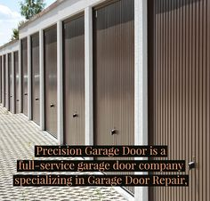 Precision Garage Door Service - Atlanta Georgia is a full-service garage door company specializing in Garage Door Repair Replacement Garage Doors and ... & Only the highest quality parts and door manufacturers are ...