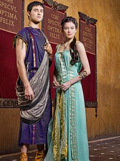 Seppia and Seppius - an incestuous pair who fall prey to Glaber and Ilithyia's ambitions.